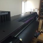 新型溶剤インクジェットプリンター