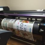 新型の大判印刷プリンターを導入しました。