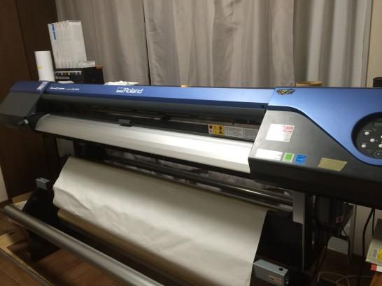 ローランド印刷機